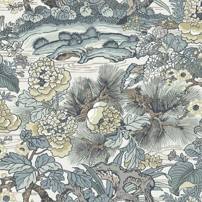 York Wallpaper CY1543 Dynasty Floral Branch