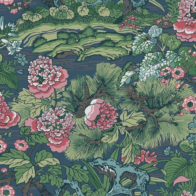 York Wallpaper CY1544 Dynasty Floral Branch