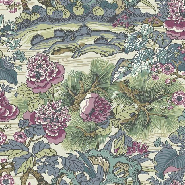 York Wallpaper CY1545 Dynasty Floral Branch