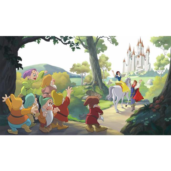 York Wallpaper JL1377M Snow White Happily Ever After