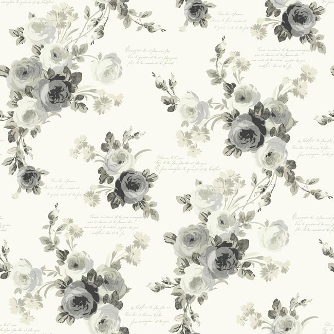York Wallpaper PSW1007RL Heirloom Rose