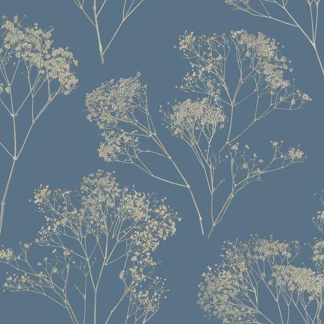 York Wallpaper VA1216 Boho Bouquet