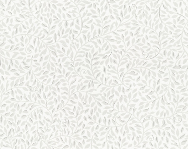 Scalamandre Wallpaper WSB0425-021 Sigfrid Light Grey