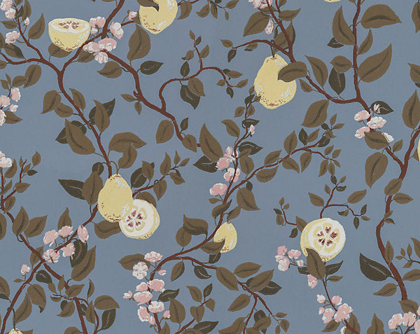 Scalamandre Wallpaper WSB0432-066 Kvitten Light Blue