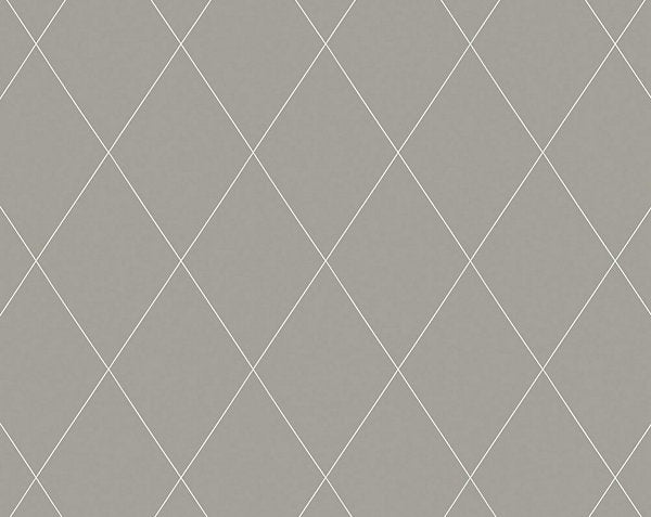 Scalamandre Wallpaper WSB0436-041 Robin Dark Grey