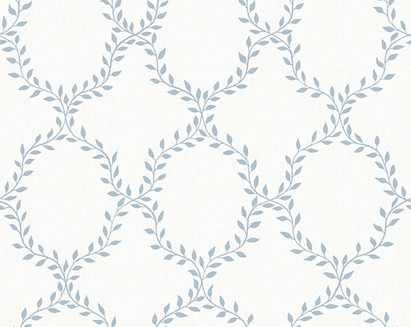 Scalamandre Wallpaper WSB0503-026 Wilma Light Blue