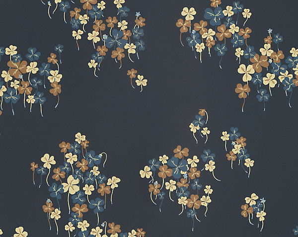 Scalamandre Wallpaper WSB0706-096 Harsyra Dark Blue