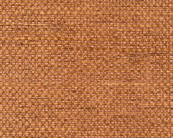 Scalamandre Wallpaper WTWSIMP-428 Simply Sisal Cinnabar