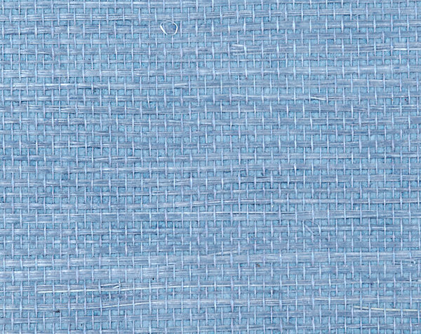 Scalamandre Wallpaper WTWSIMP-472 Simply Sisal Blue