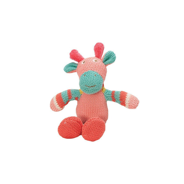 Knitwits Rattle Gertie Giraffe (Wholesale)
