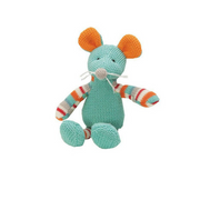 Knitwits Rattle Marty Mouse