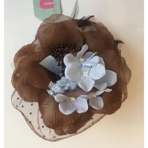 NINI BLUE LACE EXCLUSIVE HEADPIECE