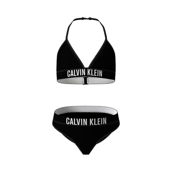 CALVIN KLEIN - Triangle Bikini Set - Black