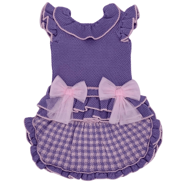 RAHIGO - Four Piece Skirt Set - Lilac