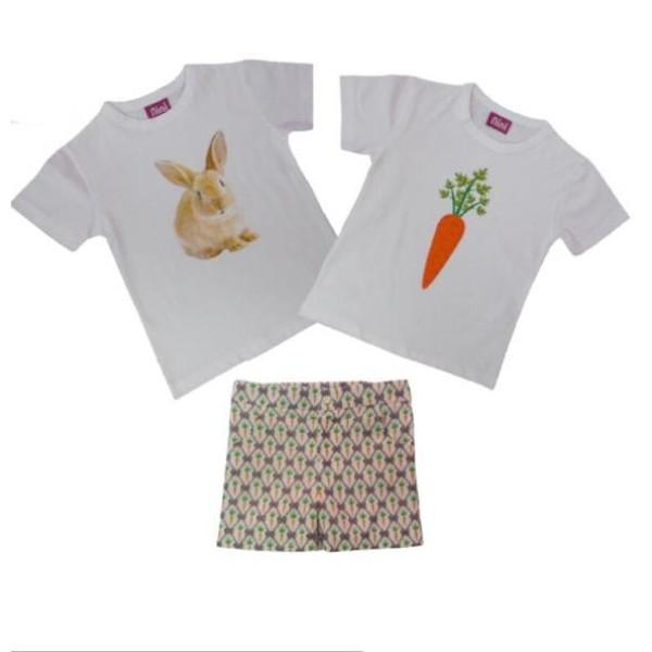 NINI  EASTER RABBIT BOYS SET