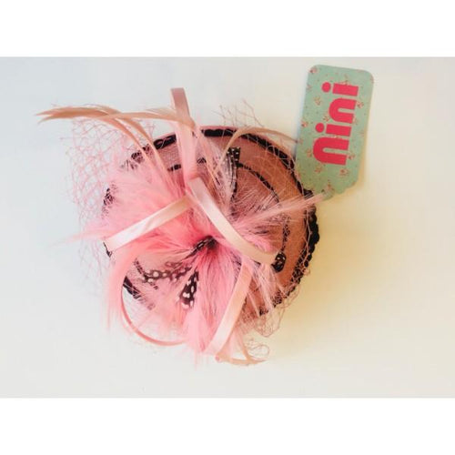 NINI PINK LACE EXCLUSIVE HEADPIECE