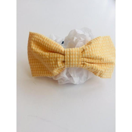 NINI  YELLOW VINTAGE HAIRBAND