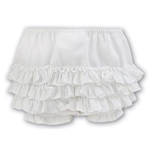 SARAH LOUISE IVORY FRILLY KNICKERS