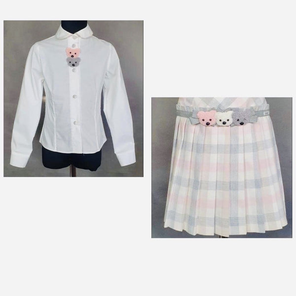 DAGA TEDDY BEAR SKIRT SET
