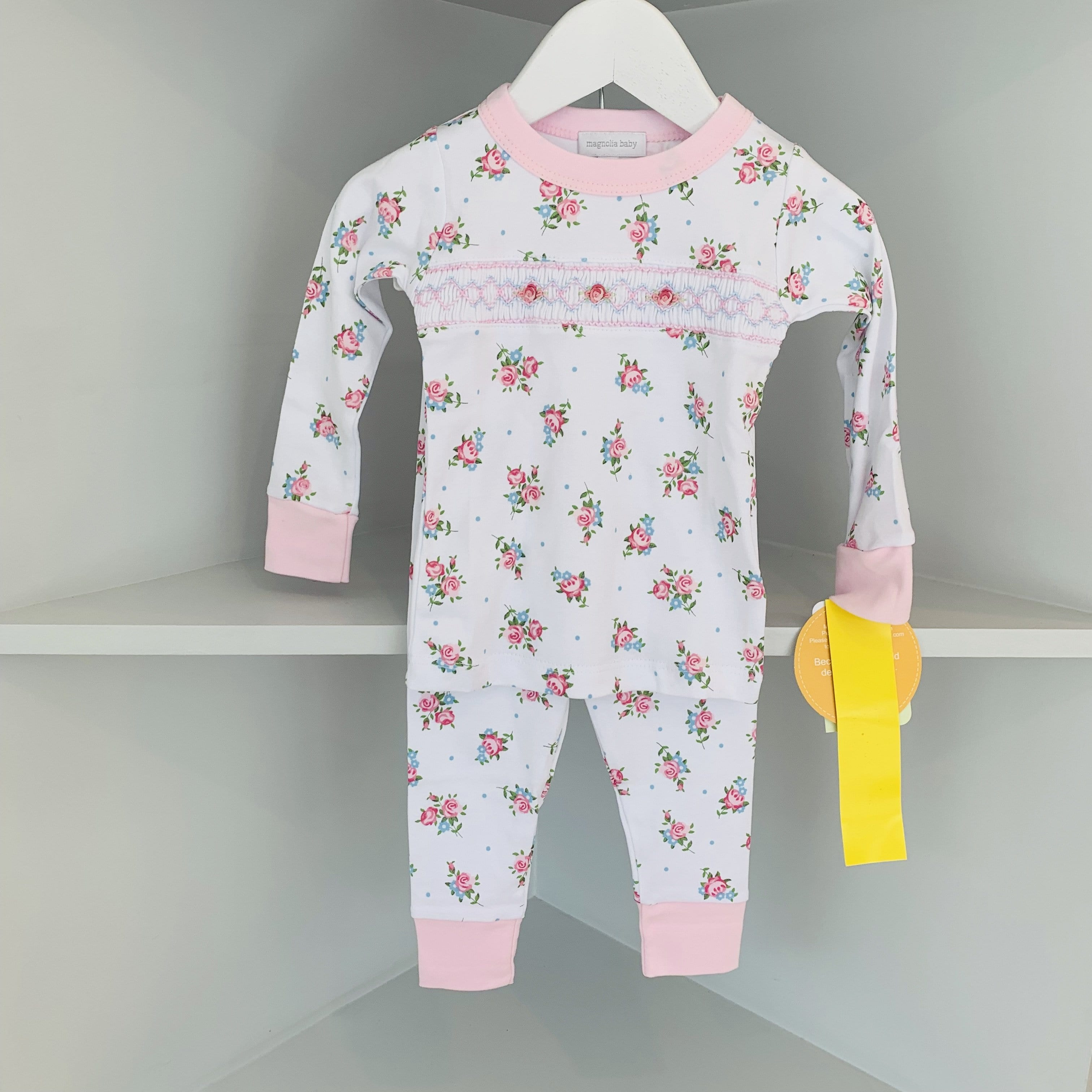PIPER'S GARDEN SMOCKED PYJAMAS
