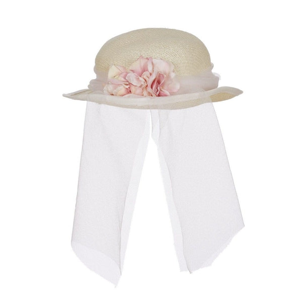 LAPIN HOUSE PALE PINK OCCASION HAT