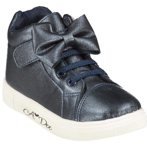 A DEE BOW HIGH TOP TRAINER NAVY
