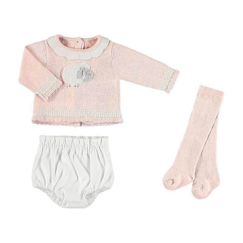 MAYORAL BABY ROSE SET