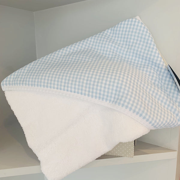 LARANJINHA BLUE GINGHAM TOWEL