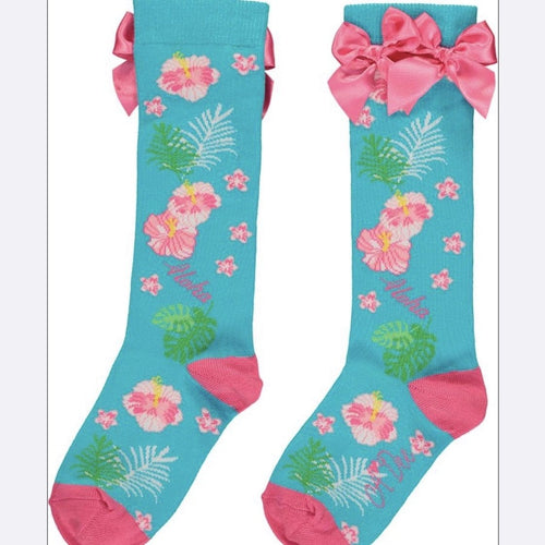 A DEE HAWAIIAN KNEE HIGH SOCKS DUNN S204914