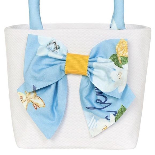 PRE ORDER BALLOON CHIC LEMON/ BLUE HAND BAG