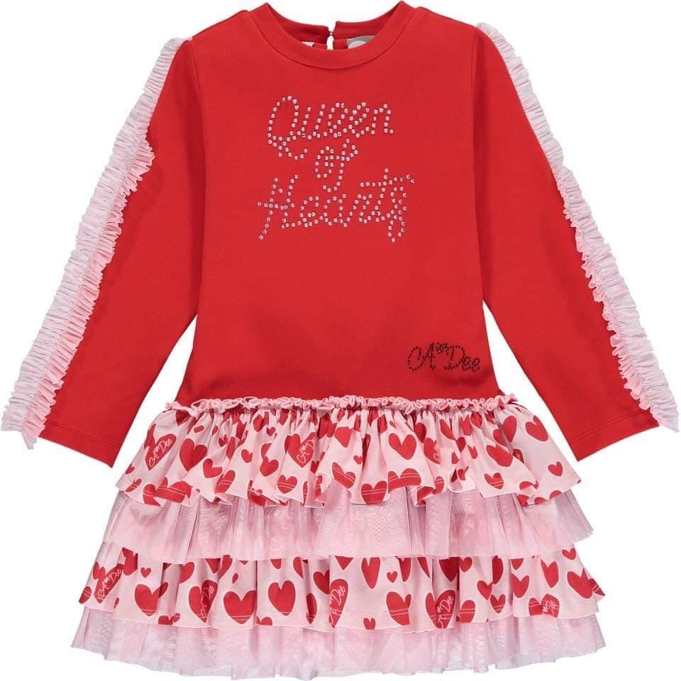 A Dee - Frilly Dress - Red