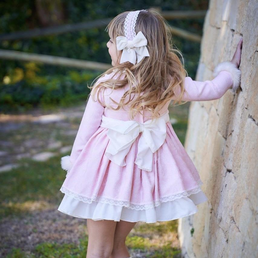BELCOQUET PINK PRESLEY PUFFBALL DRESS
