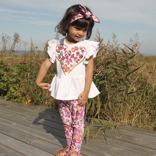 HAPPY CALEGI BOW LEGGING SET