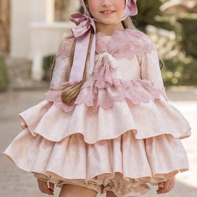 PRE ORDER DUERME SAFILLA PENELOPE PUFFBALL DRESS SET