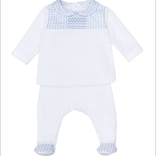 LARANJINA BOYS TWO PIECE  VELOUR SET