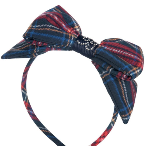 PRE ORDER BALLOON CHIC  TARTAN HAIRBAND