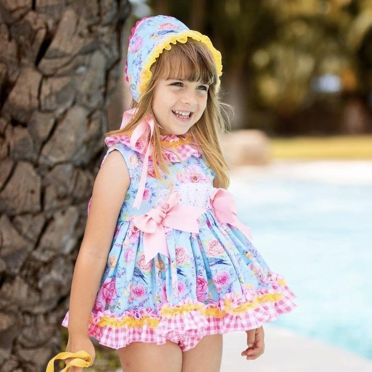 BELCOQUET MOLLIE  PUFFBALL BABY DRESS