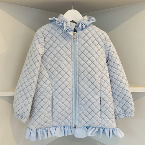 NINI SISTER BRAND LIGHTLY PADDED BABY BLUE JACKET
