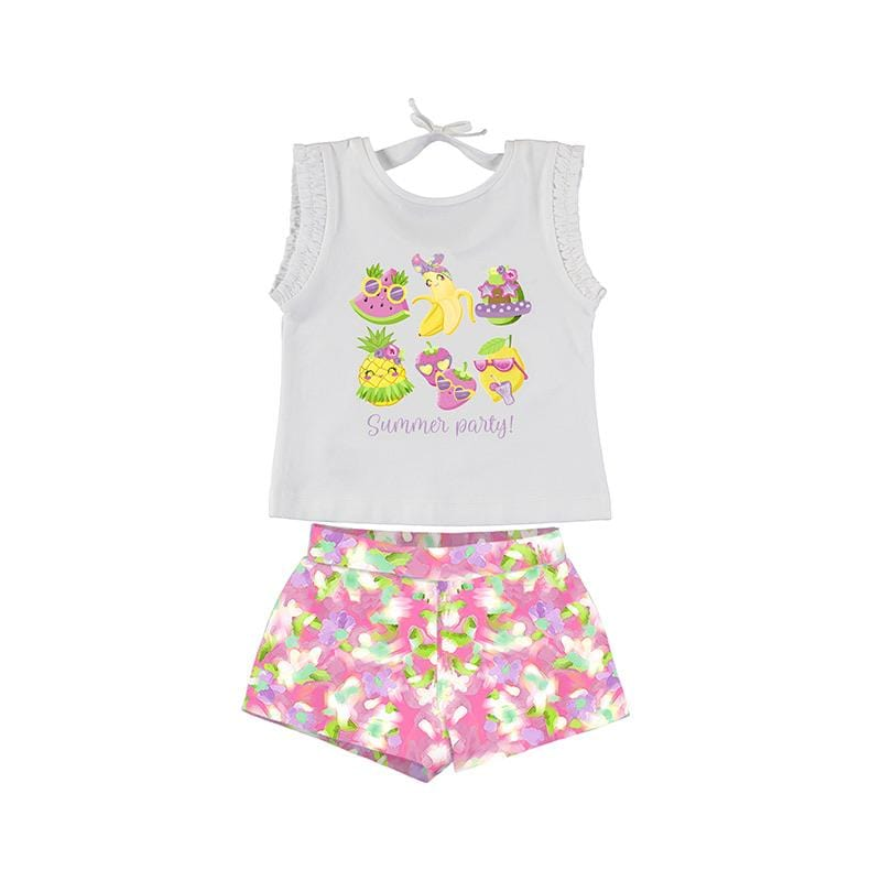 MAYORAL - Summer Party Short Set - Pink
