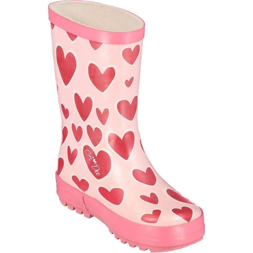 A DEE HEARTS WELLY BOOTS