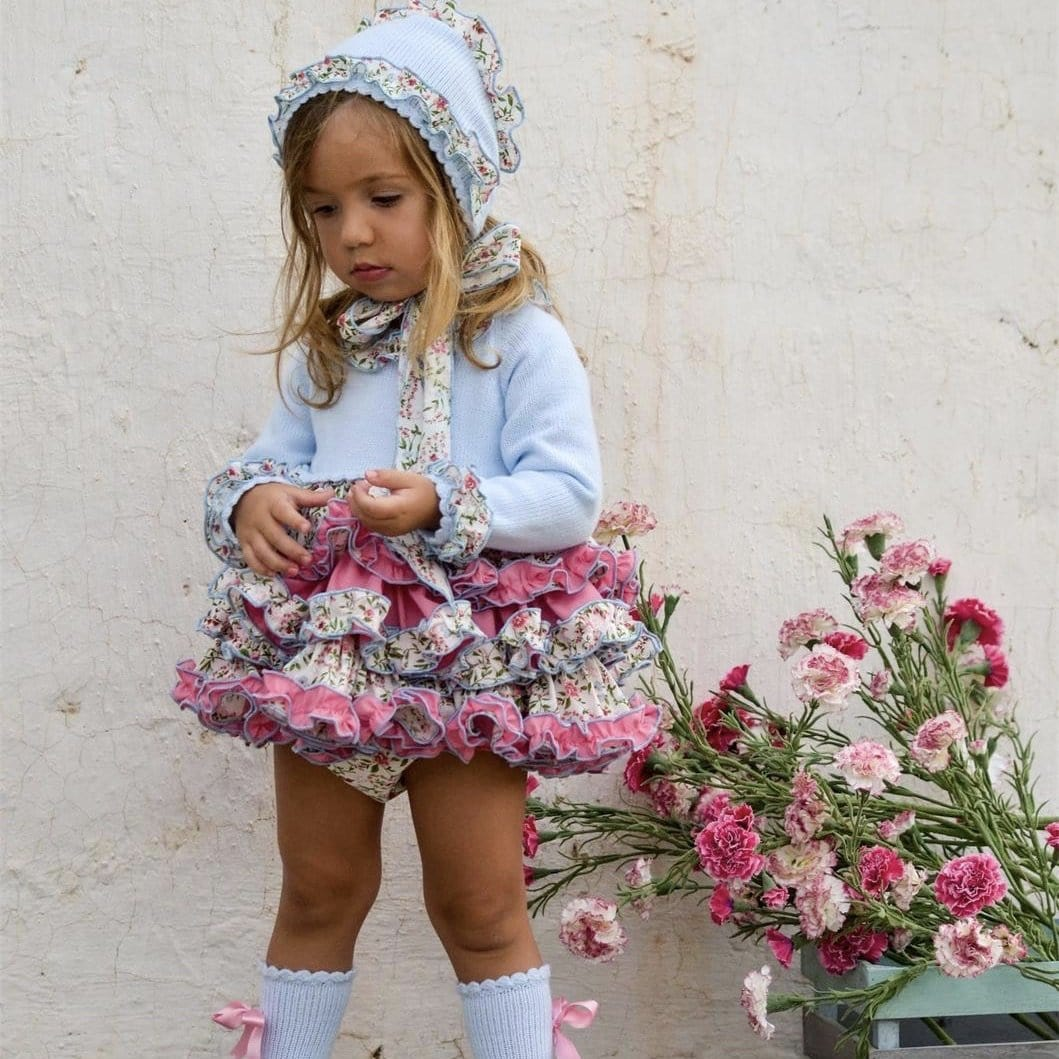 EXCLUSIVE FLEUR DRESS  & SOCKS