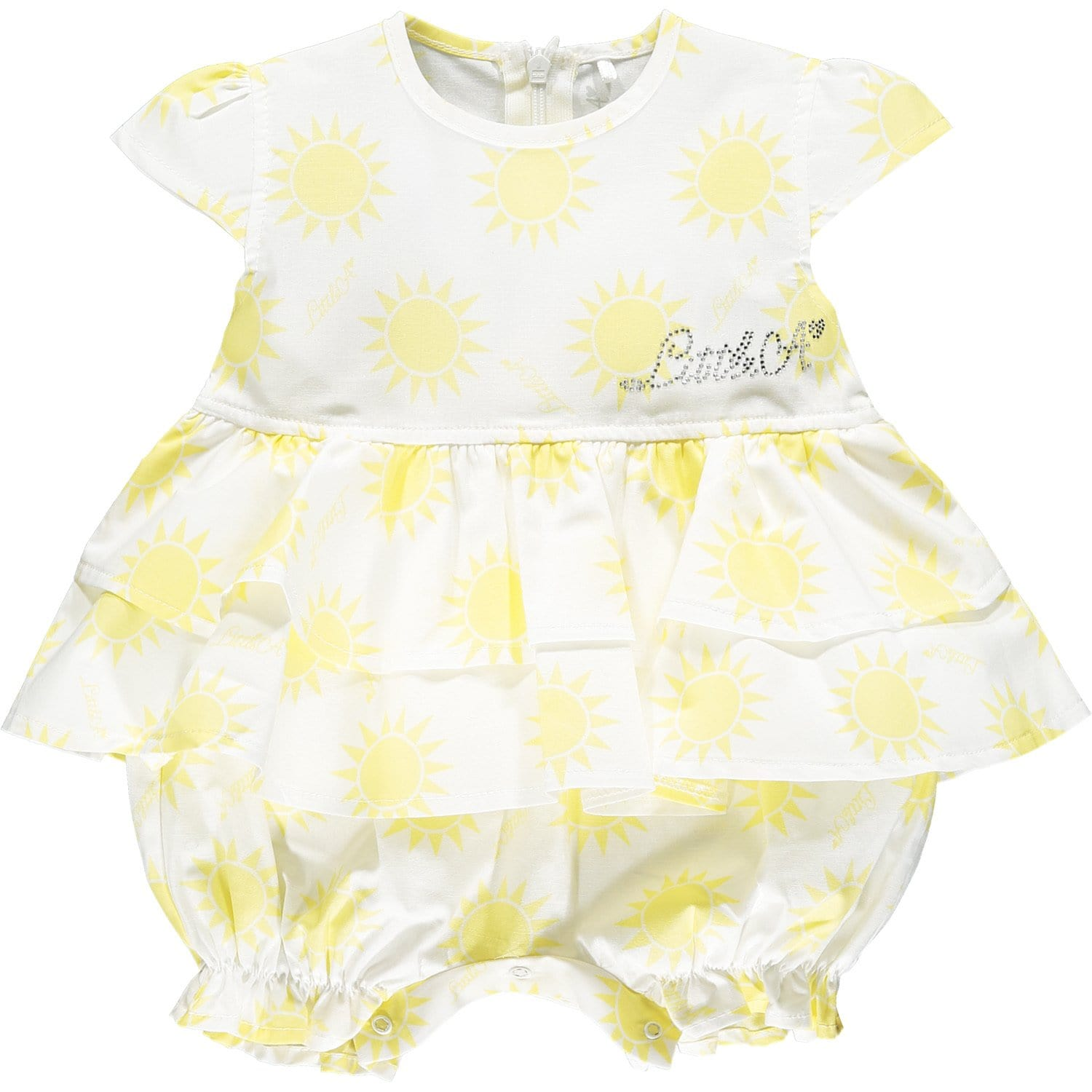 Little A - Sunshine Romper - Lemon