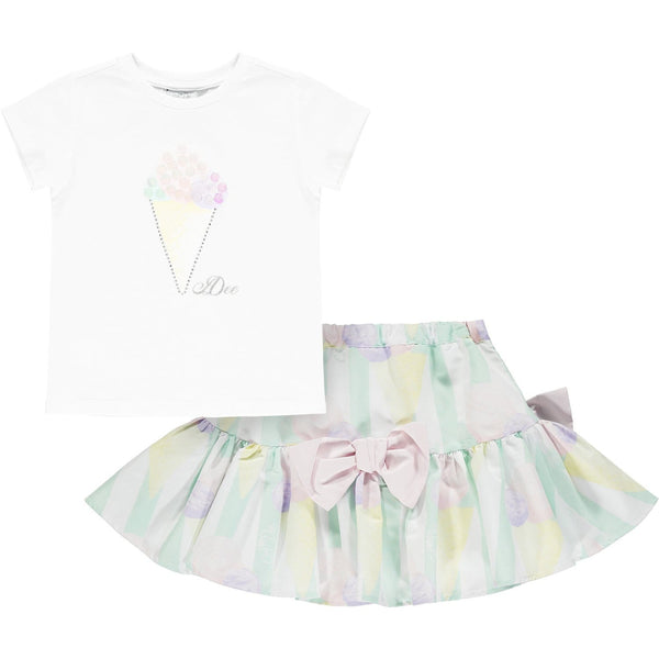 A DEE MIAMI MINT ICE CREAM SKIRT SET ONDREA S214605
