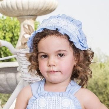 BABINE BLUE RUFFLE HAIRPIECE