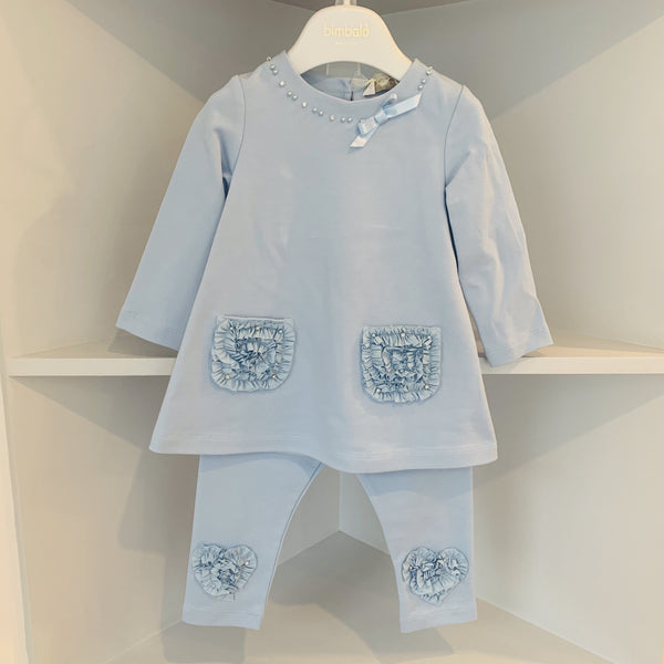 BIMBALO BABY BLUE FAIRY TWO PIECE SET