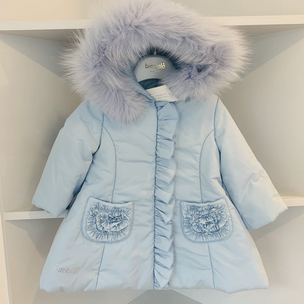 BIMBALO BABY BLUE FAIRY COAT