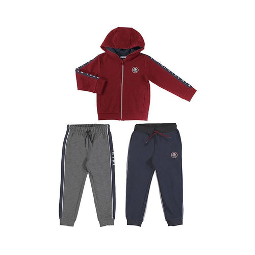 MAYORAL CHERRY BASIC TWO PANT TRACKSUIT