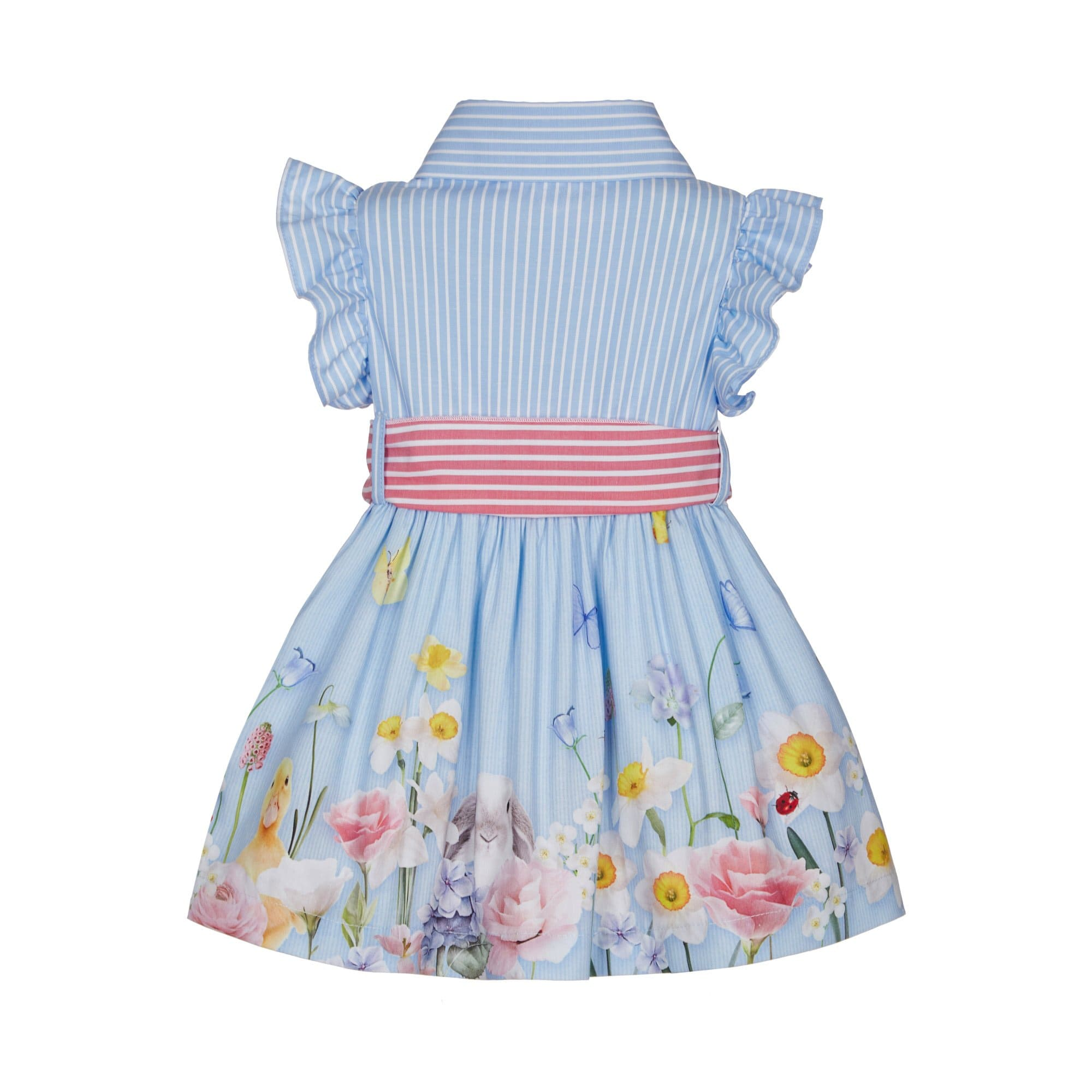 PRE ORDER LAPIN HOUSE CANDY STRIPE EASTER DRESS