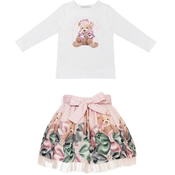 BALLOON CHIC TEDDY BEAR LOVELY SKIRT SET