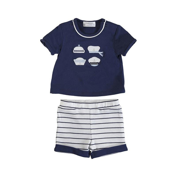 MAYORAL - Sailor Short Set - Navy